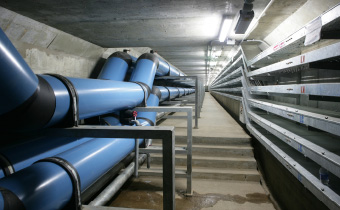 Underground Utility Tunnel